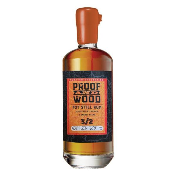 Proof & Wood 3/2 Pot Still Rum