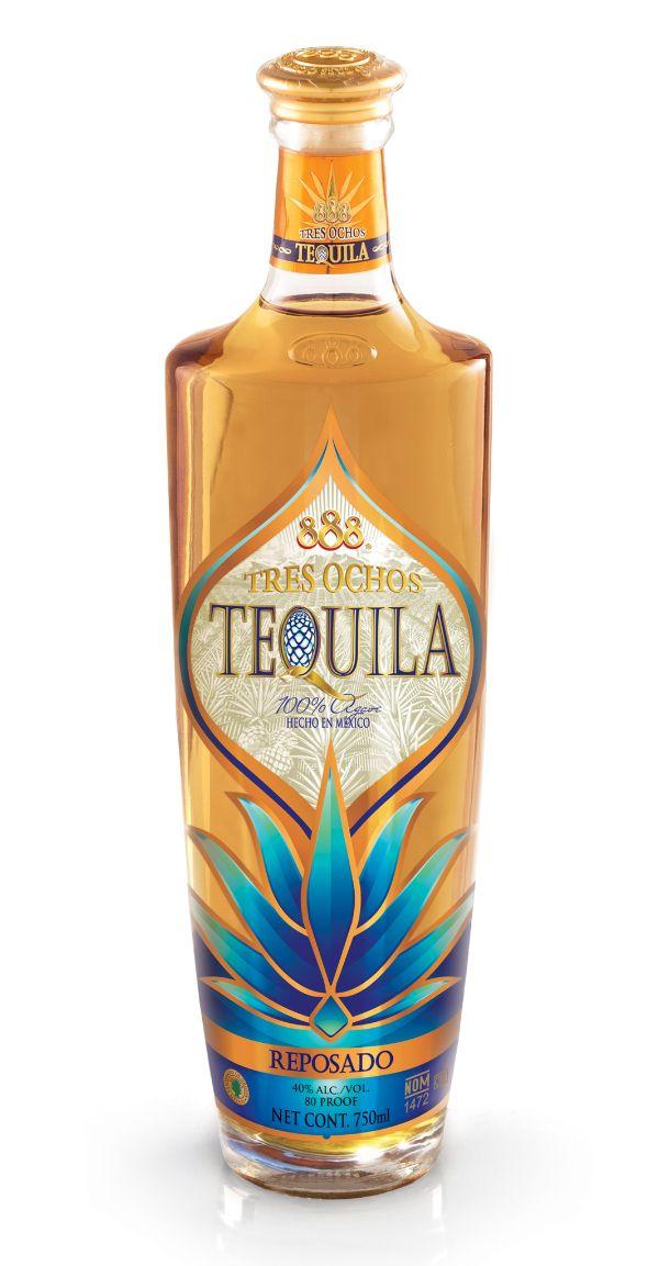 888 Tres Ochos Reposado Tequila
