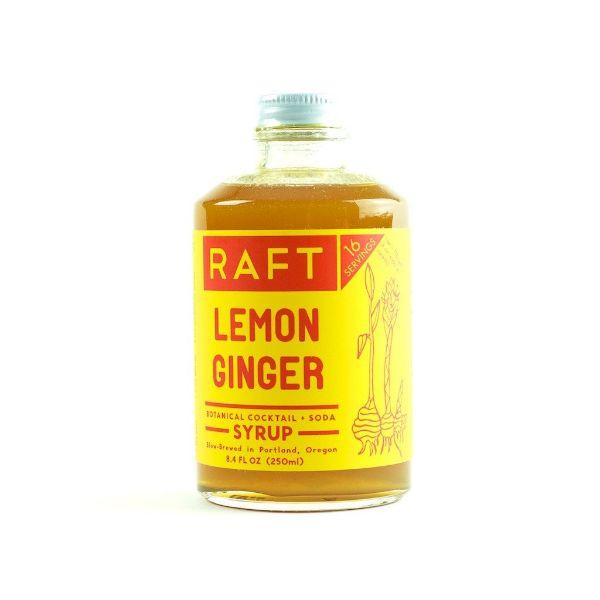 Raft Botanical Lemon Ginger Syrup