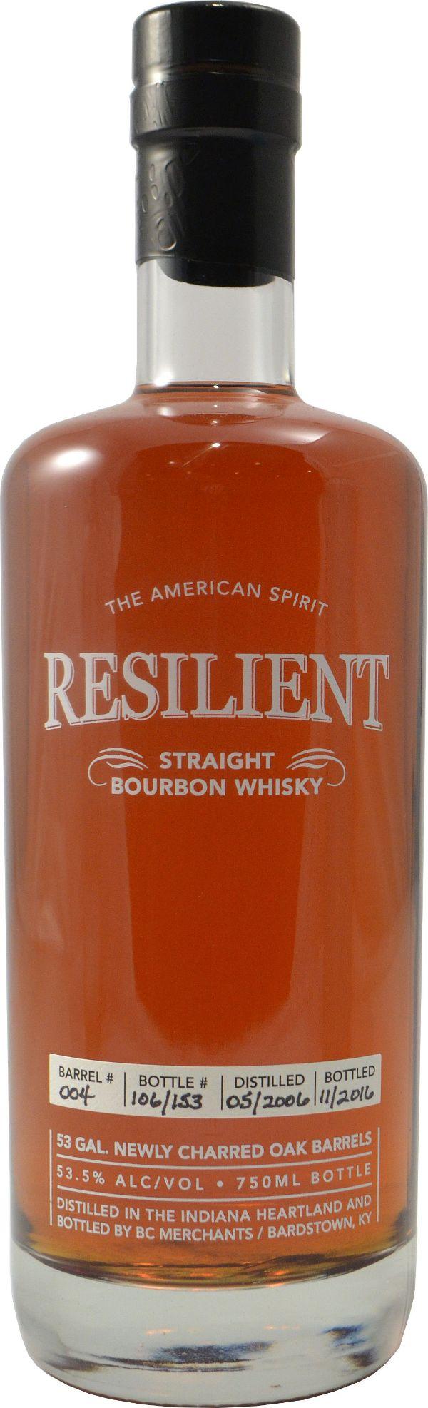 Resilient 14 Yr Straight Bourbon