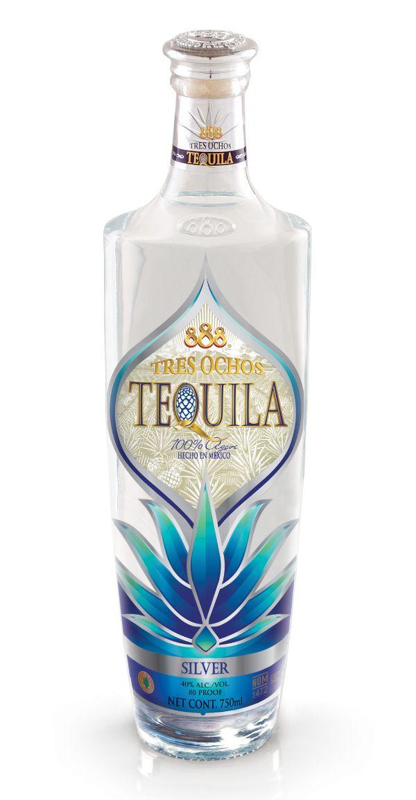 888 Tres Ochos Silver Tequila