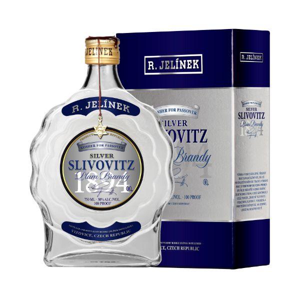 R. Jelinek Silver Slivovitz Kosher For Passover
