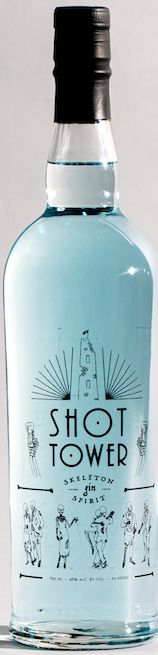 Baltimore Spirits Shot Tower Skeleton Gin