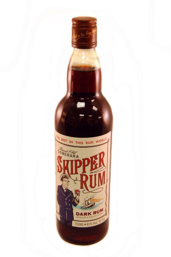 Skipper Demerara Dark Rum