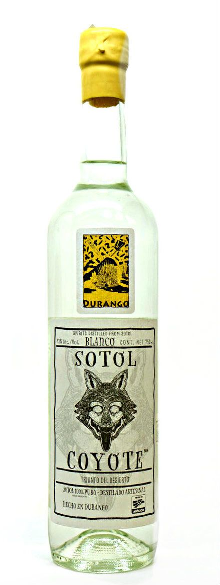 Sotol Coyote Durango Yellow Label