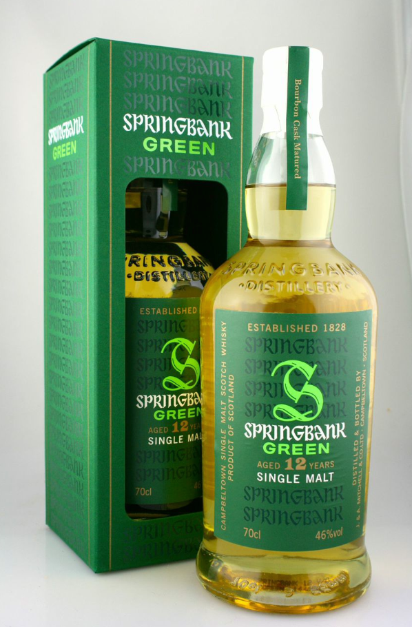 Springbank 12 Yr Green Single Malt