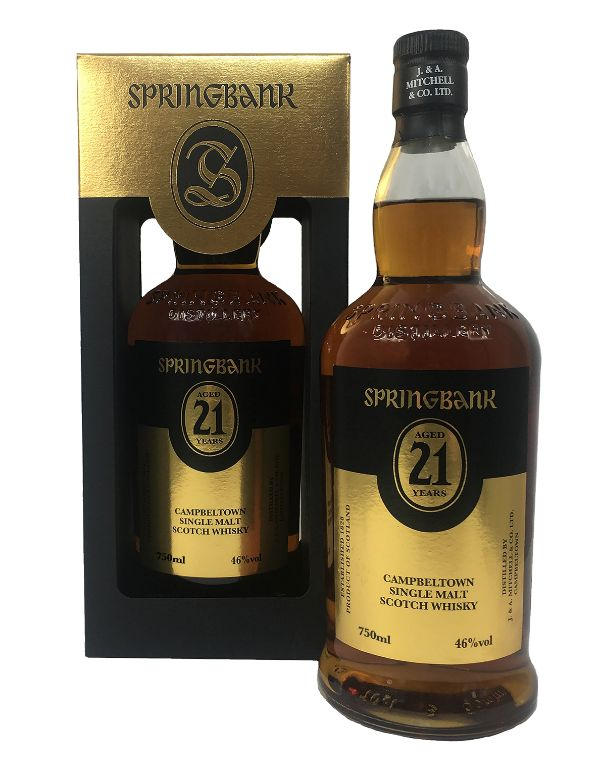 Springbank 21 Yr Single Malt