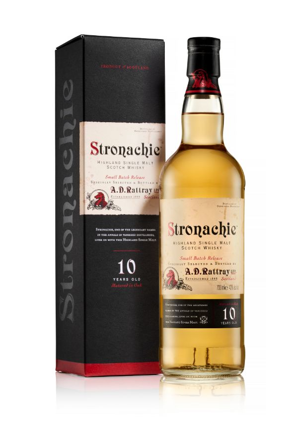 Stronachie 10 Yr Single Malt Scotch