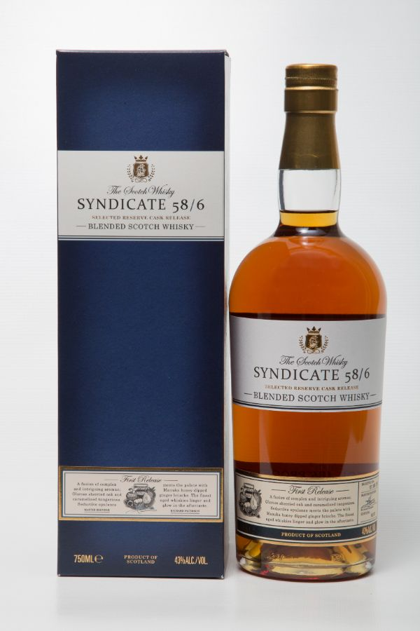 Syndicate 58/6 Blended Scotch Whiskey