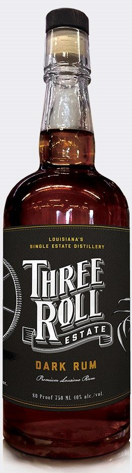 Three Roll Estate Dark Rum