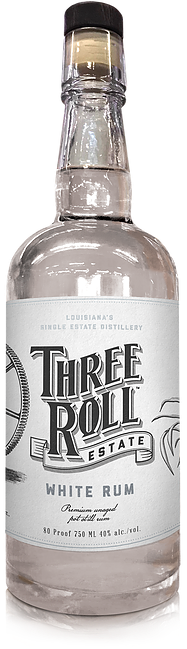 Three Roll Estate White Rum