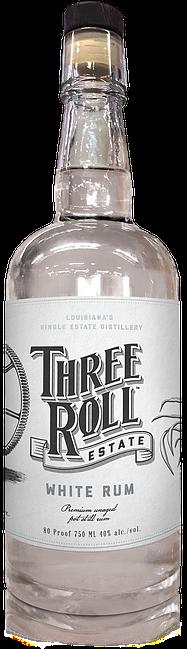 Three Roll Estate White Rum