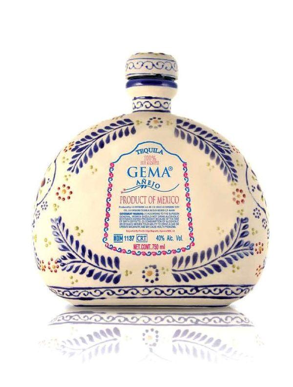 Gema Anejo Talavera Ceramic Tequila