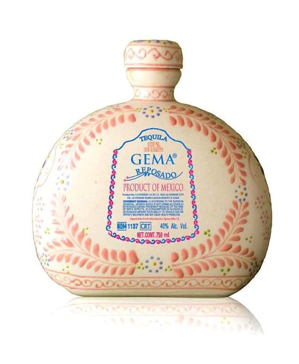 Gema Reposado Talavera Ceramic Tequila