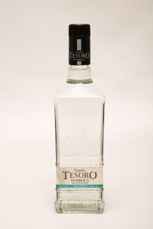 Tesoro #5 Blanco Tequila
