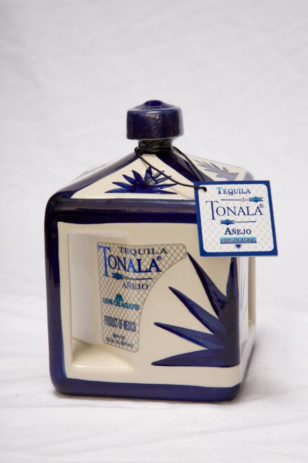 Tonala Anejo 2 Yr Ceramic Tequila
