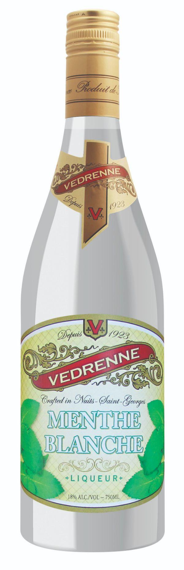 Vedrenne Menthe Blanche Liqueur