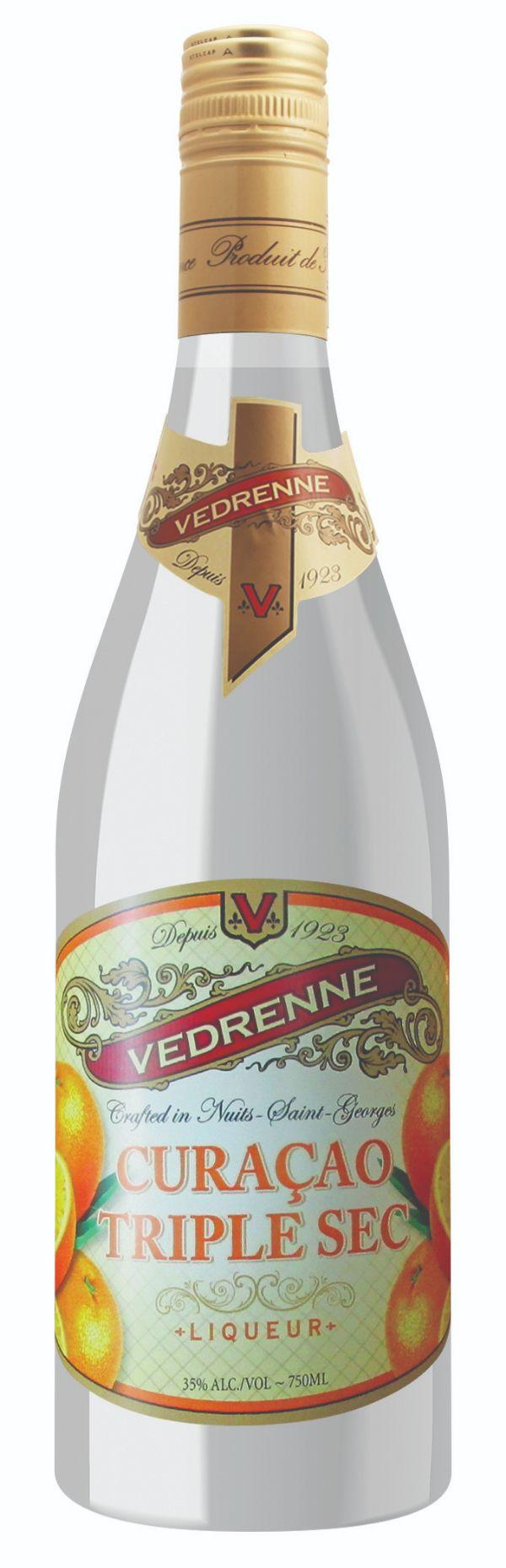 Vedrenne Triple Sec Liqueur