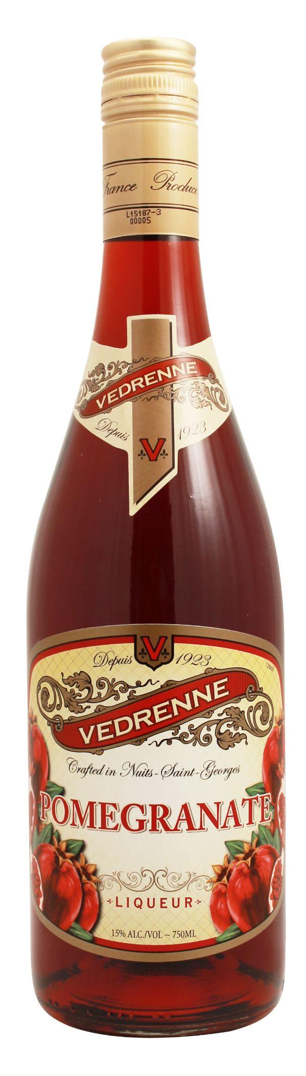 Vedrenne Pomegranate Liqueur