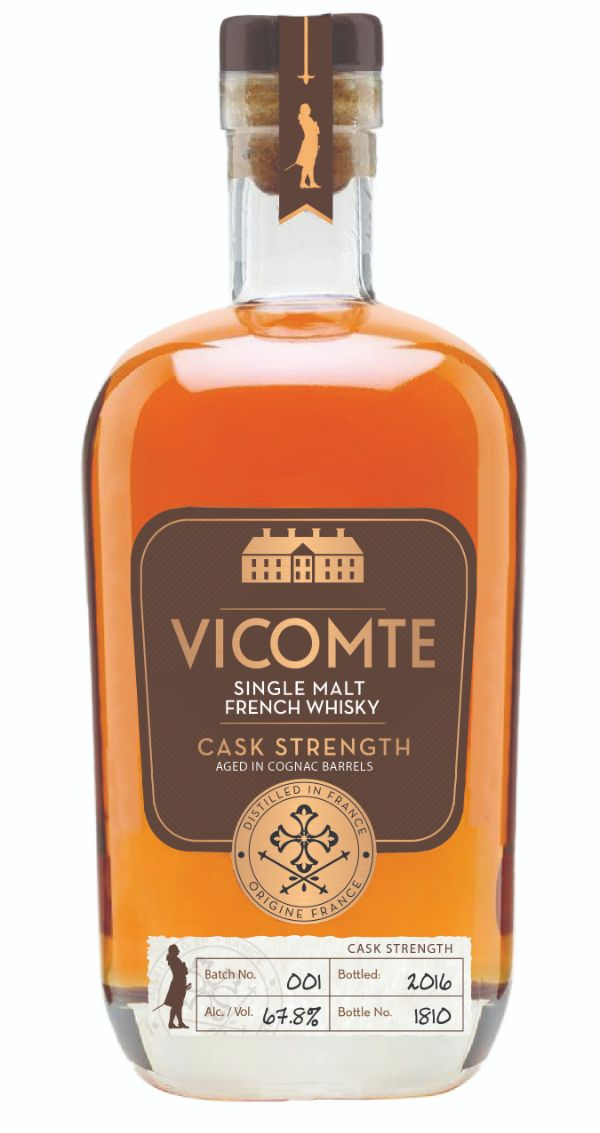 Vicomte French Single Malt Cask Strength
