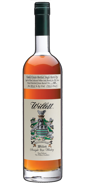 Willett Family Estate Rye 6 Yr Cask #2291
