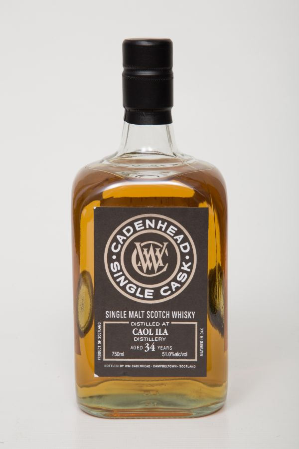 WM Cadenhead Caol Ila 1984 34 Yr Single Malt