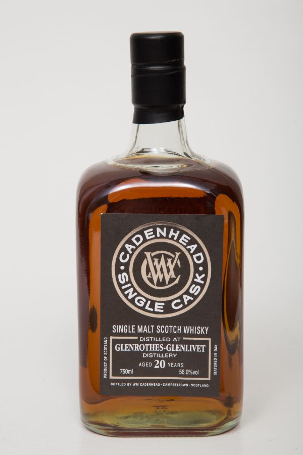 WM Cadenhead Glenrothes 1997 20 Yr Single Malt