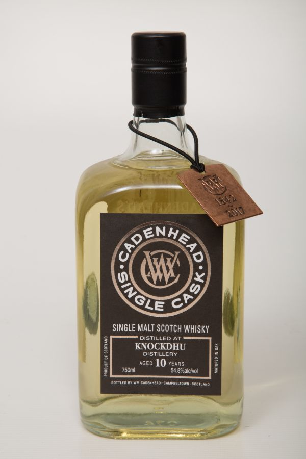 WM Cadenhead Knockdhu 2006 10 Yr #8 Single Malt