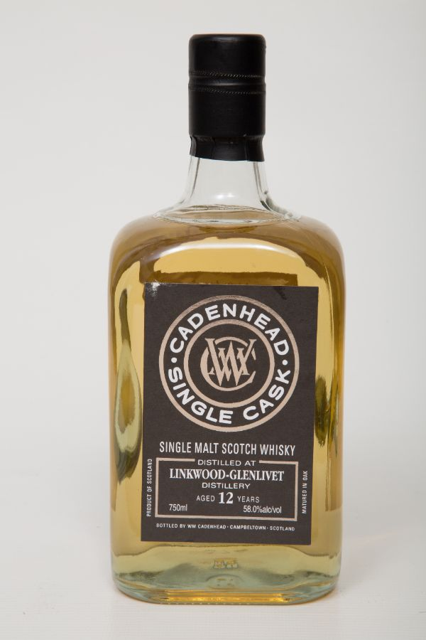 WM Cadenhead Linkwood 2006 12 Yr Single Malt