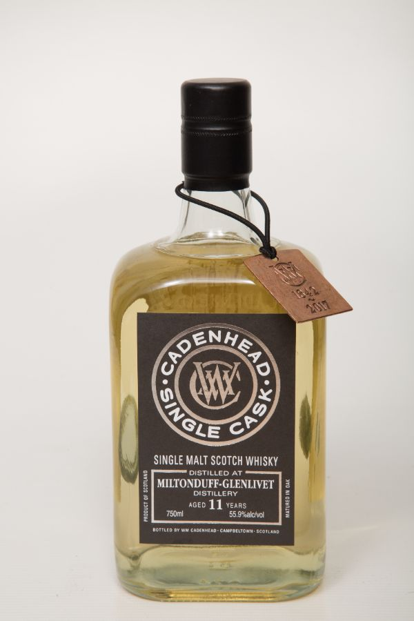 WM Cadenhead Miltonduff 2006 11 Yr Single Malt