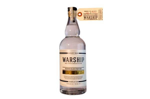 Warship Small Batch Black Strap Reserve Rum