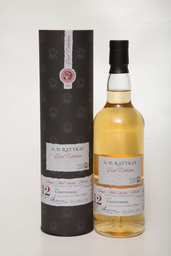 A.D. Rattray Croftengea 2005 12 Yr #322 Single Malt