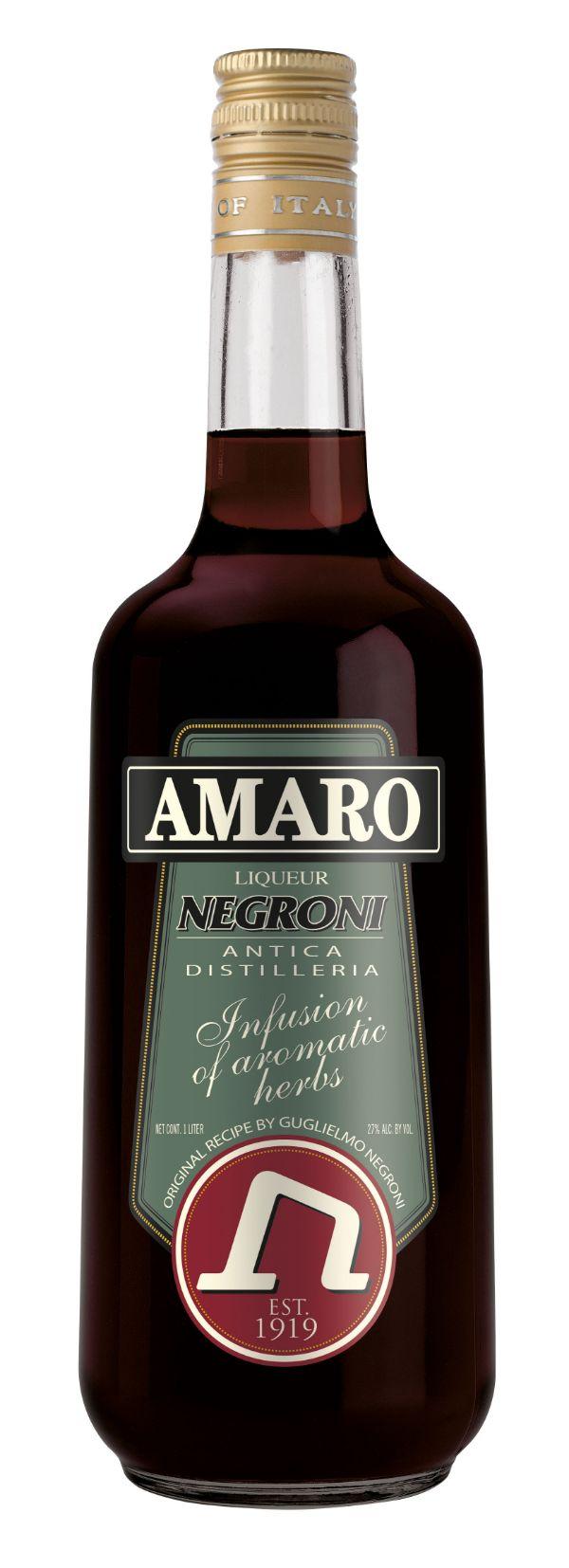 Negroni Amaro Liqueur