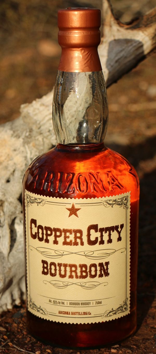 Arizona Distilling Copper City Bourbon