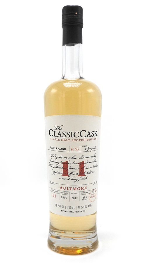 Classic Cask Aultmore 2006 11 Yr Single Malt