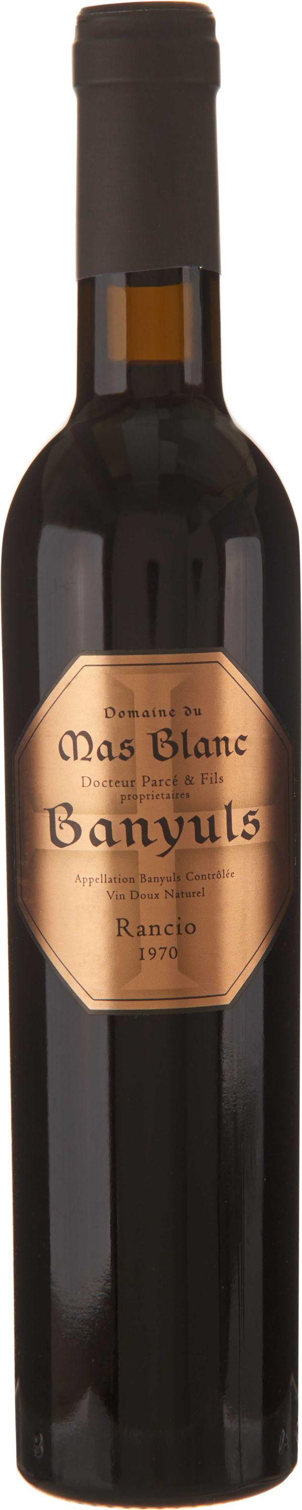 Domaine du Mas Blanc Banyuls Rancio Sec 1970