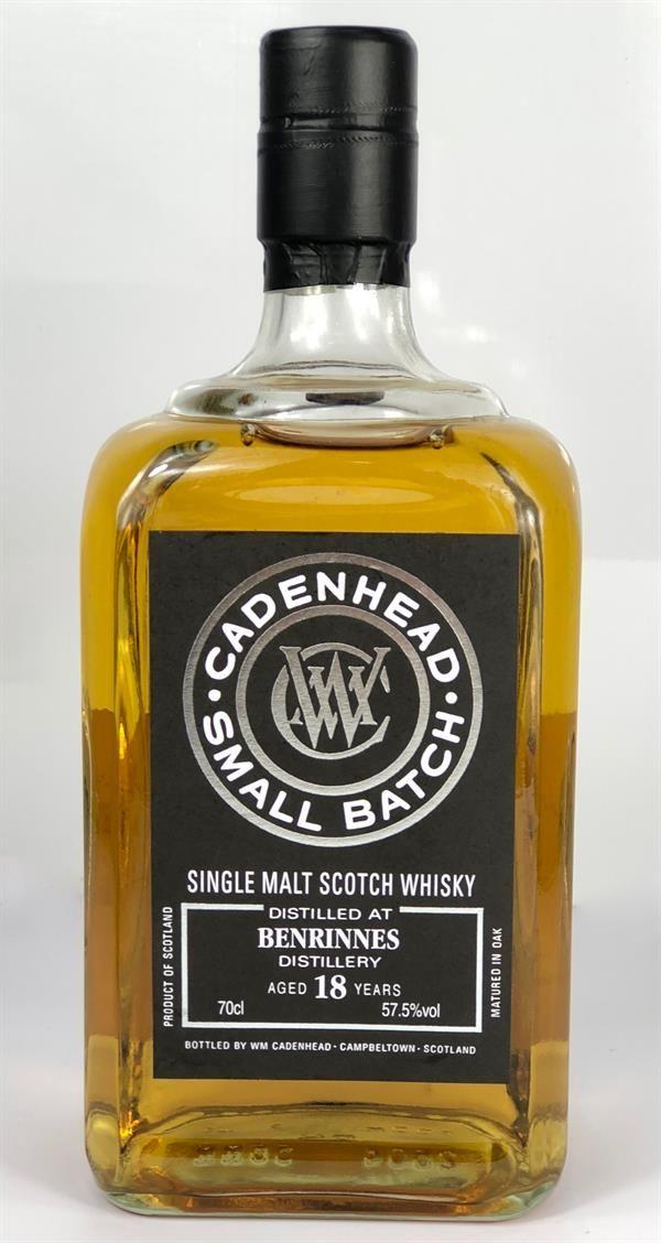 WM Cadenhead Benrinnes 2000 18 Yr #306773 Single Malt