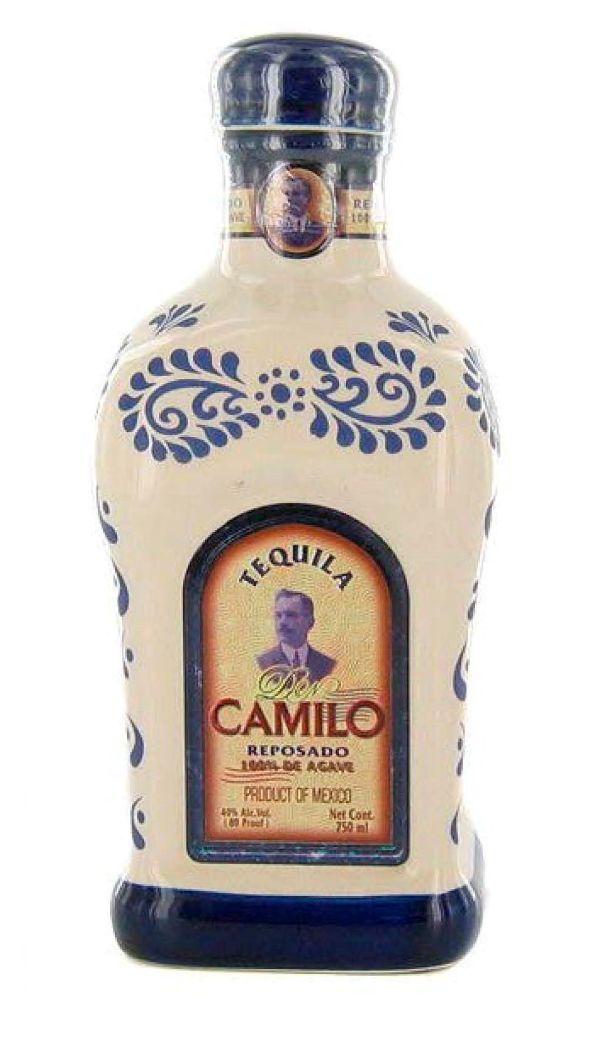 Don Camilo Reposado Ceramic Tequila