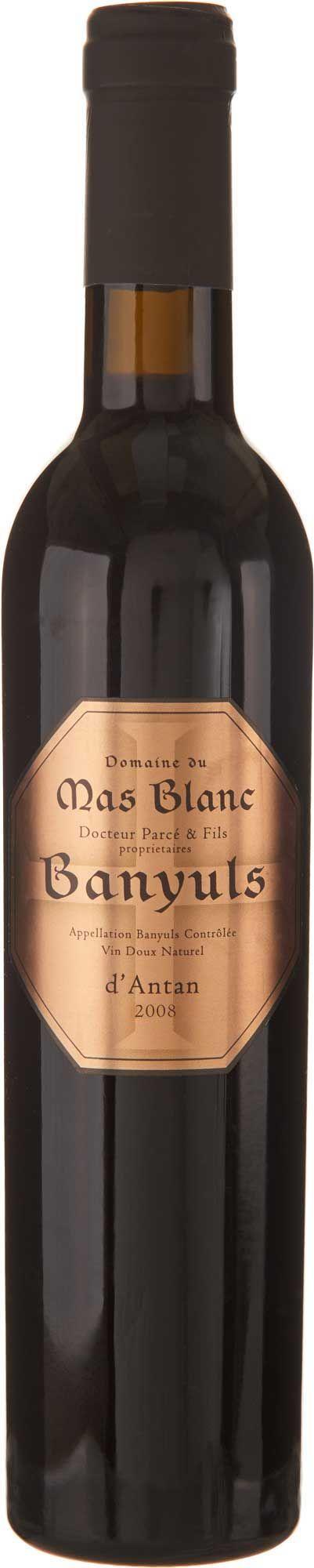 Domaine du Mas Blanc Banyuls D'Antan 2008