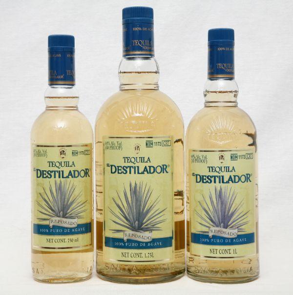 El Destilador Reposado Tequila