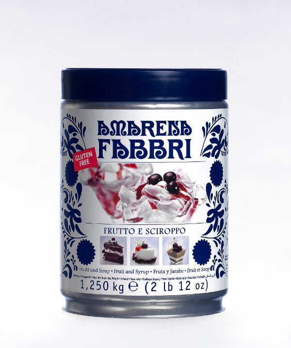 Fabbri Amarena Cherries in Syrup Tin 113oz