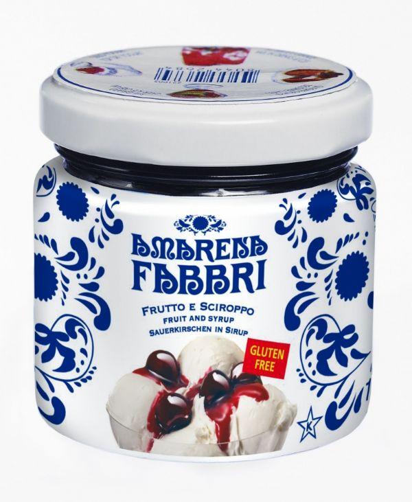 Fabbri Amarena Cherries in Syrup Jar 4.25oz