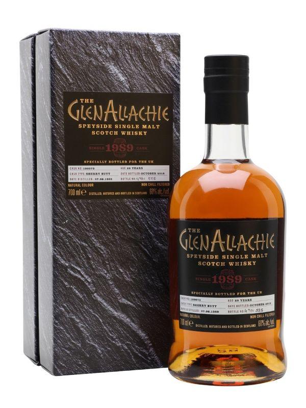 The Glenallachie 29 YR Sherry Single Cask Single Malt Scotch