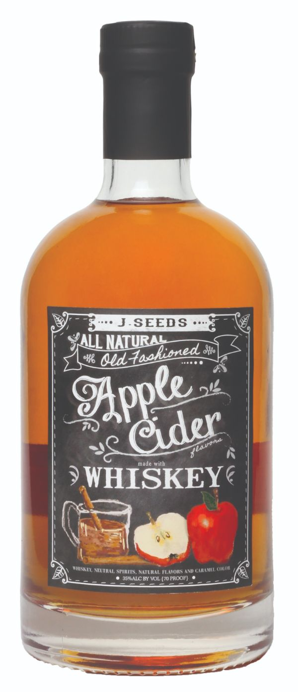 J. Seeds Apple Cider Whiskey