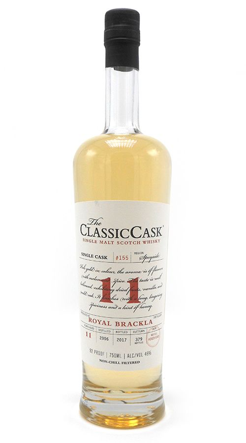 Classic Cask Royal Brackla 2006 11 Yr Single Malt