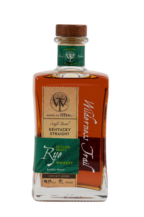 Wilderness Trail Single Barrel Rye Green Label