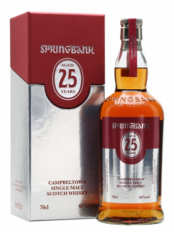 Springbank 25 Yr Single Malt