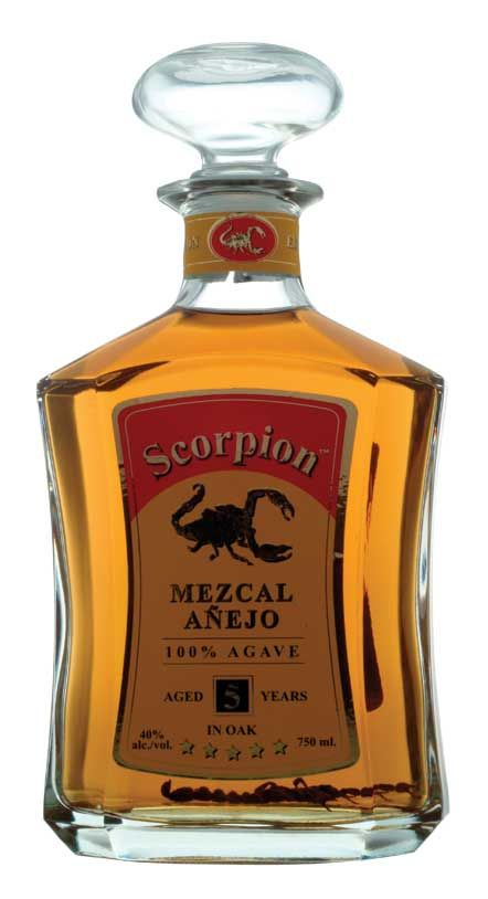 Scorpion 5 Yr Anejo Mezcal