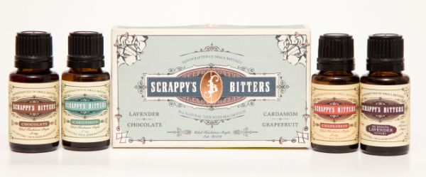 Scrappy's Bitters Exotic Mini Set