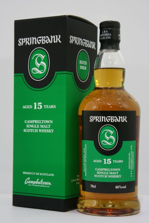 Springbank 15 Yr Single Malt